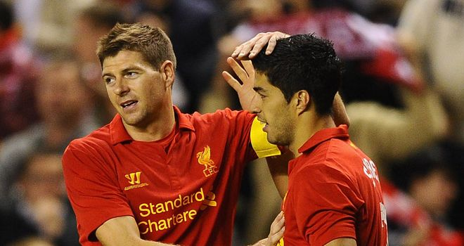Steven Gerrard & Luis Suarez: Rested for Europa League clash with Young Boys
