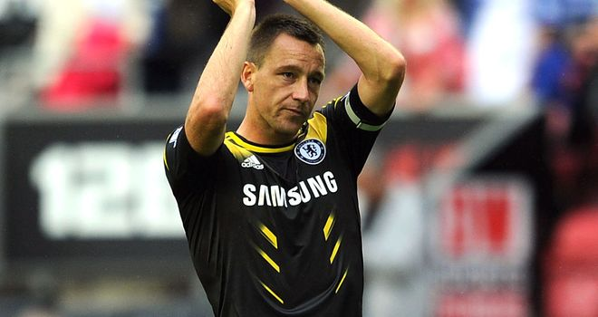 John Terry: Chelsea captain is back in light training ahead of Saturday's game at Queens Park Rangers