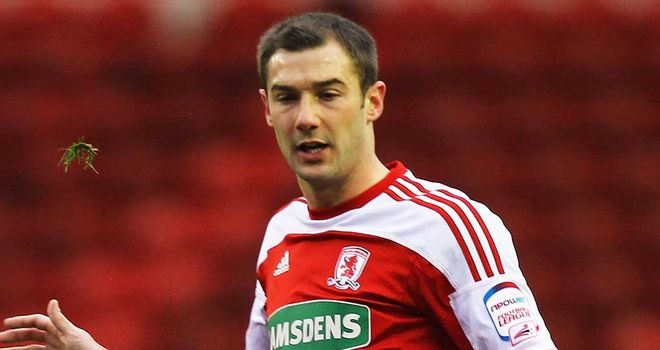 Kevin Thomson: Has left Middlesbrough