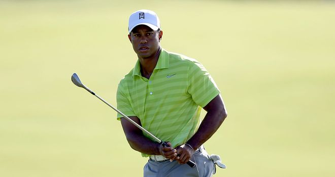 Woods is three shots off Pettersson's lead after day one at Kiawah island
