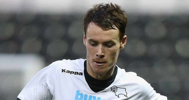 Tom Naylor: Derby defender has extended his loan stay with Bradford