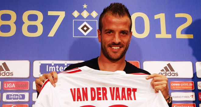 Rafeal van der Vaart: Pleased to rejoin former club Hamburg on a three-year deal
