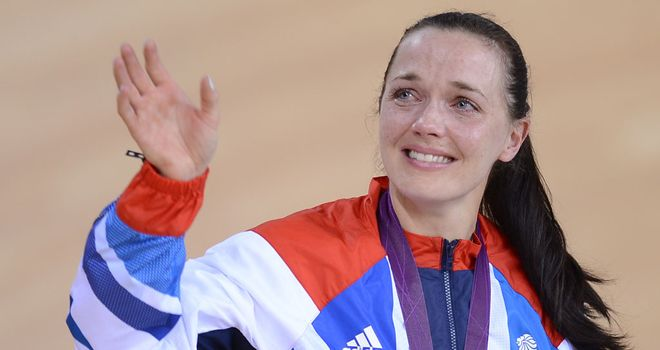 Victoria Pendleton: CBE for now retired track cycling star