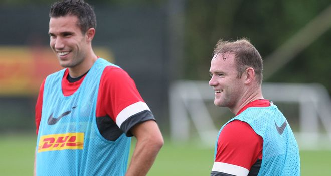 Van Persie and Rooney: will they work together?