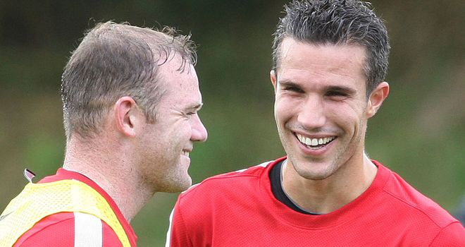 Rooney and van Persie can both net against Arsenal