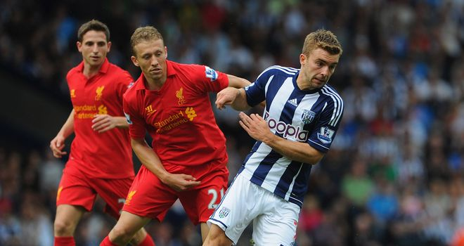 James Morrison: Rewarded with a new four-year deal at West Brom
