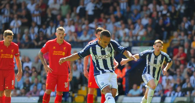 Peter Odemwingie: Nigerian forward 'very close' to being fit for Everton game