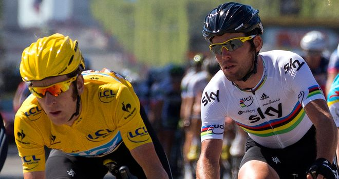 Bradley Wiggins and Mark Cavendish: Keen on return to the track
