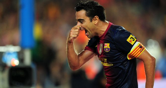 Xavi Hernandez: Has committed to Barcelona on new deal