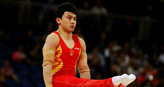 Feng Zhe: Won the gold medal in the men's parallel bars