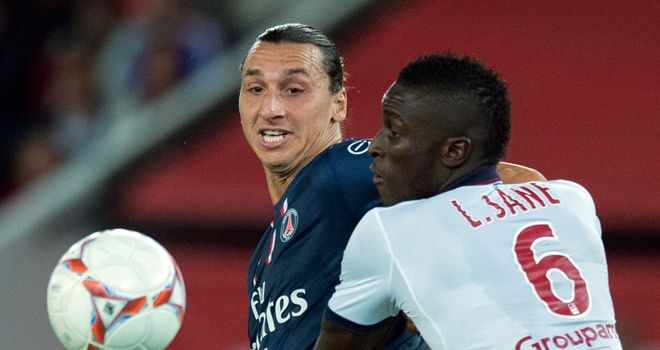 Zlatan Ibrahimovic: Kept out by Bordeaux's defence