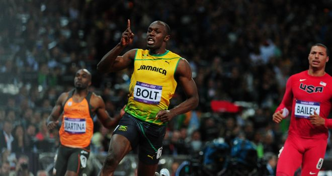 Usain Bolt: claimed 100m gold with second fastest time in history