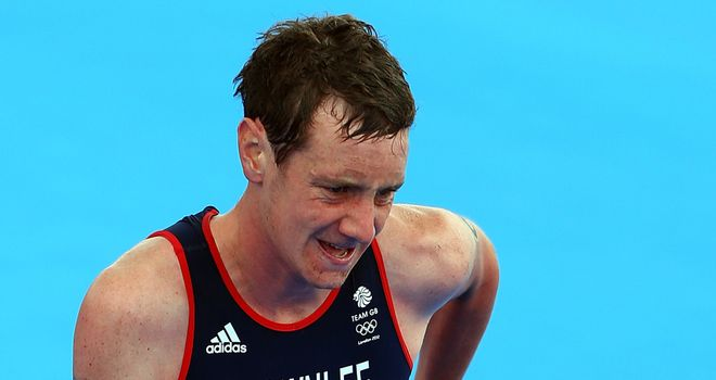 Alistair Brownlee: Set for the track