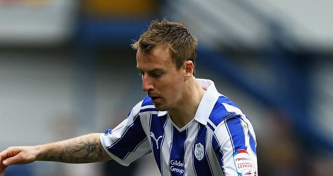 Chris Lines: Sheffield Wednesday midfielder is out for up to 12 weeks with a groin injury