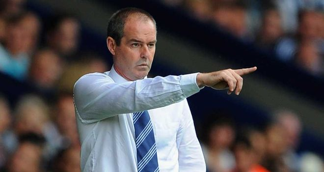 Steve Clarke: West Brom manager was pleased with his team's comeback against Tottenham