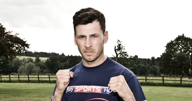 Darren Barker puts a brave face on his latest injury setback (leighdawneyphotography.com)