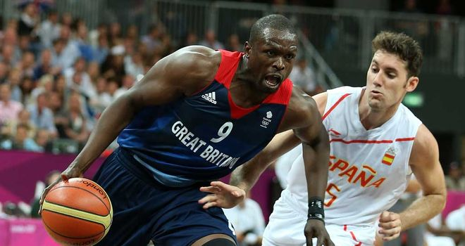 Luol Deng: Great Britain international has protested against the funding cut