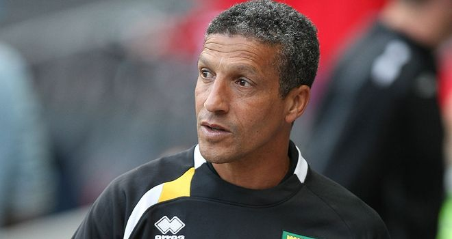 Chris Hughton: Pleased with the way Norwich played in their draw with Tottenham