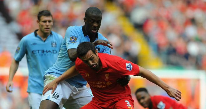 Jose Enrique: Happy to fight for his place at Anfield