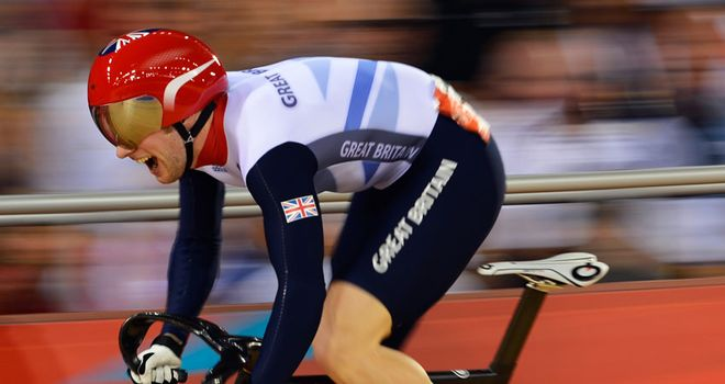 Jason Kenny is looking to add to his 2011 world title