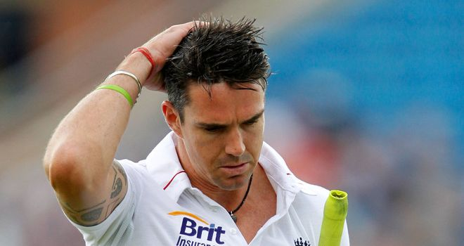 Kevin Pietersen: replaced by Jonathan Bairstow in England squad for Lord's Test