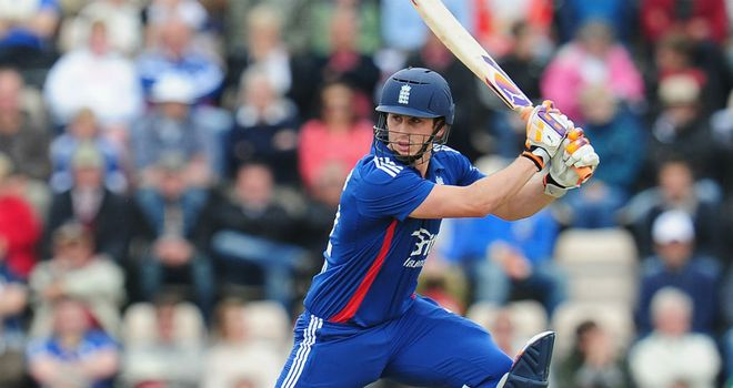 Craig Kieswetter: Looking forward to facing England colleagues