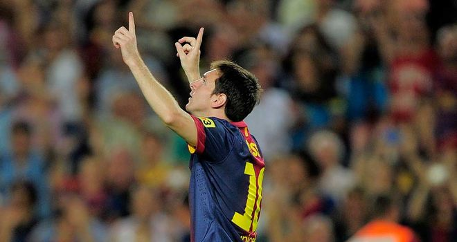 Messi: Started season with a brace