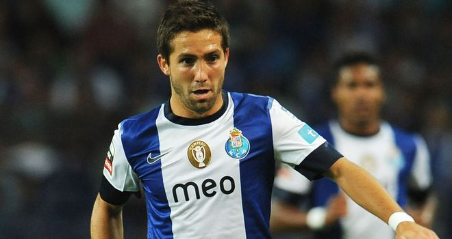 Joao Moutinho could not find a way through for Porto