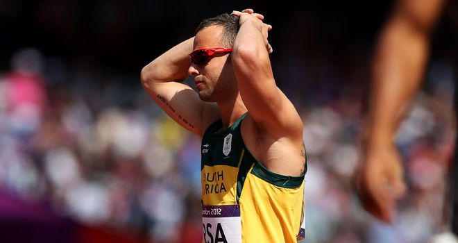 Oscar Pistorius: Admits he is not confident of his chances in the 100 metres