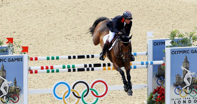 Peter Charles: Has sold his London 2012 horse Murka's Vindicat W