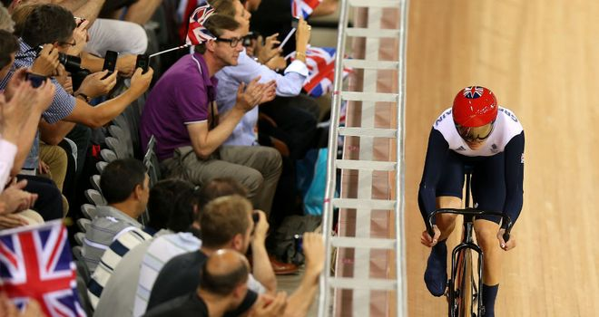 Victoria Pendleton: Moved through to the quarter-finals with ease