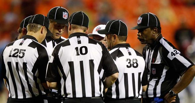 Replacement Referees: Causing a stir this NFL season