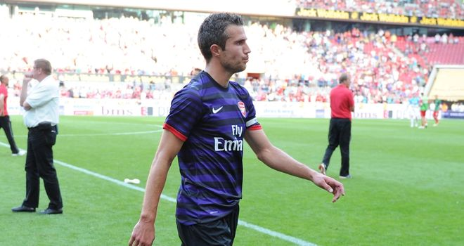 Robin van Persie: Was booed on Sunday