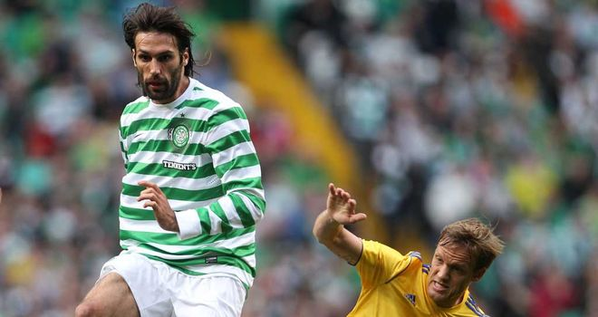 Georgios Samaras: Close to comeback for Celtic