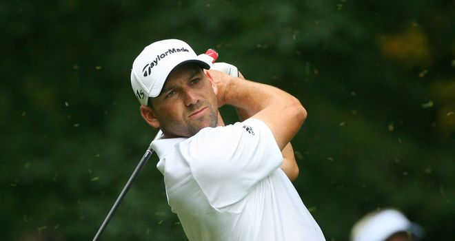 Sergio Garcia: Still in front midway thorugh final round