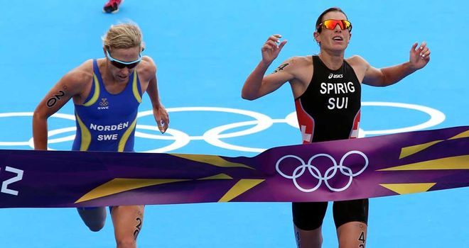 Lisa Norden: Pipped by Nicola Spring to the gold medal but Sweden have appealed to CAS