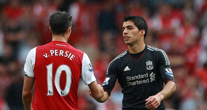Luis Suarez: Juventus target along with RVP