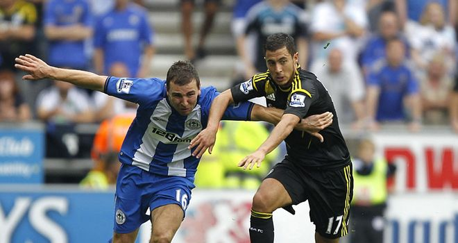 Eden Hazard: Man of the match display for Chelsea in the win over Wigan
