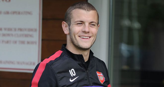 Jack Wilshere: Arsenal midfielder is about a month away from making his return to playing
