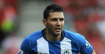 Antolin Alcaraz: Wigan defender not match fit