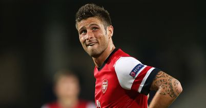 Olivier Giroud: Was happy to return to the Stade de la Mosson