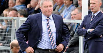 McCoist: Day to forget for Gers boss