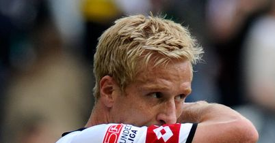 Mike Hanke: Former Borussia Monchengladbach forward has signed for Freiburg