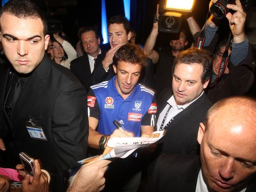 Alessandro Del Piero: Has arrived in Australia