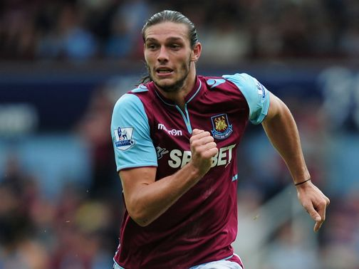 Andy Carroll: Joined West Ham on loan