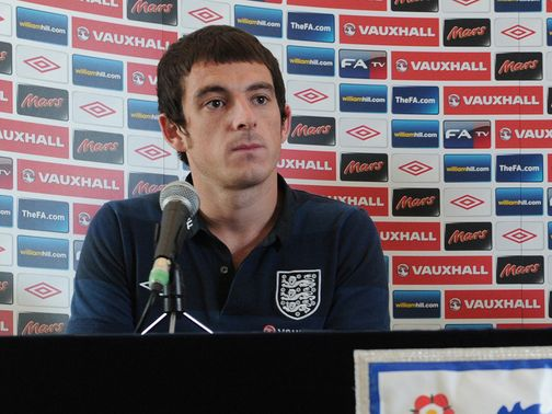 Leighton Baines: Wary of fight for left back spot
