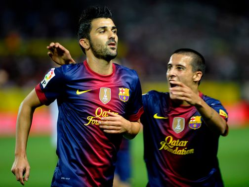 David Villa: Cut by Sky Bet for Swansea move