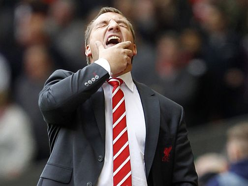 Brendan Rodgers: Looking for more goals