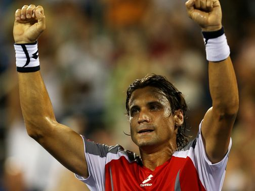 David Ferrer: Won in straight sets