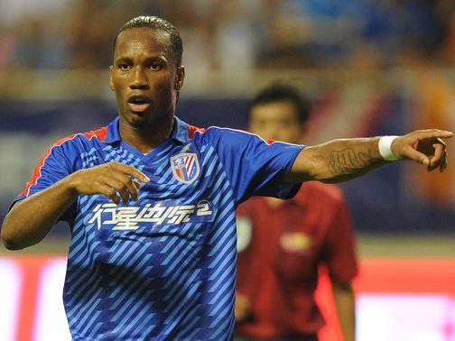 Didier Drogba: Had been linked with moves to Italy